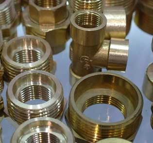 Forged Brass Threaded Fittings