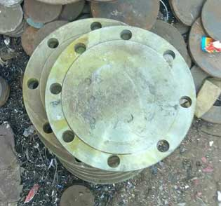 ASME B16.5 Mild Steel Flanges