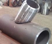Schedule 40 A105 Carbon Steel Lateral Wye