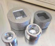 2 x 1 Socket Weld Plug Fittings