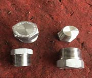 SCH 10 5 Inch Threaded Galvanized Plug