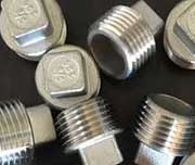 Titanium Threaded Plug